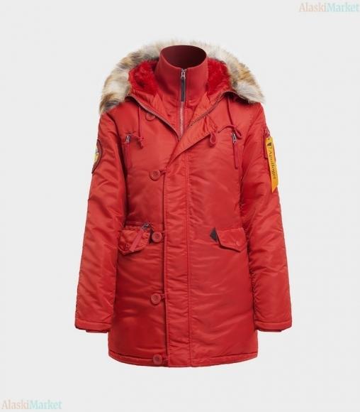 Аляска женская HUSKY WOMAN'S REDWINE/REDWINE