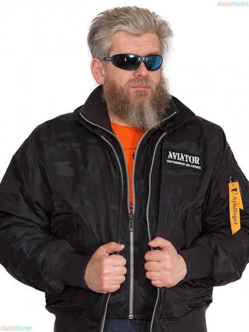 Куртка AVIATOR BLUE CAMO/BLUE CAMO