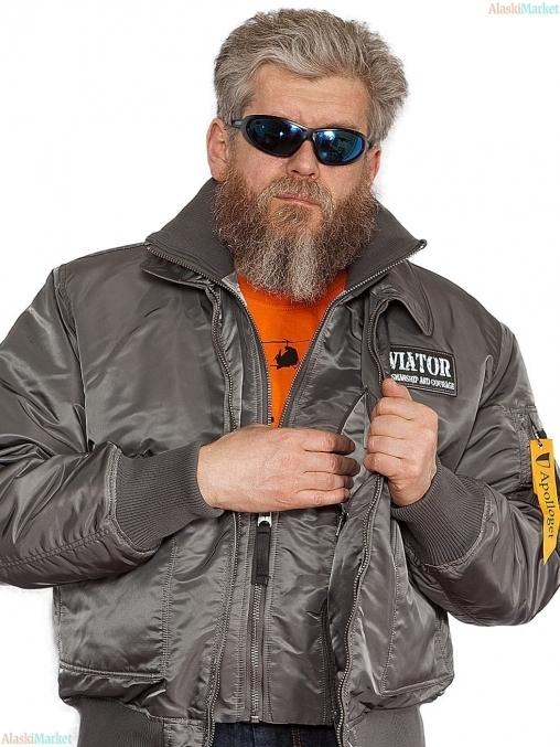 Куртка AVIATOR GUN GREY/GUN MET