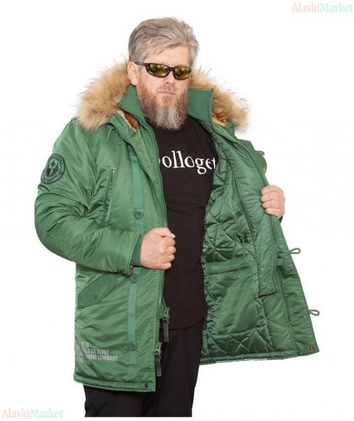 Аляска удлиненная ARKTIK CADMIUM/CADMIUM