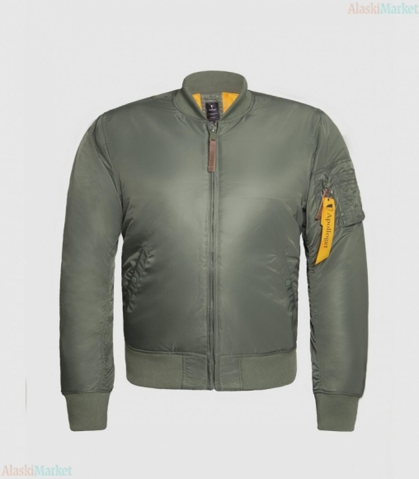 Куртка B-17 SAGE GREEN/ORANGE