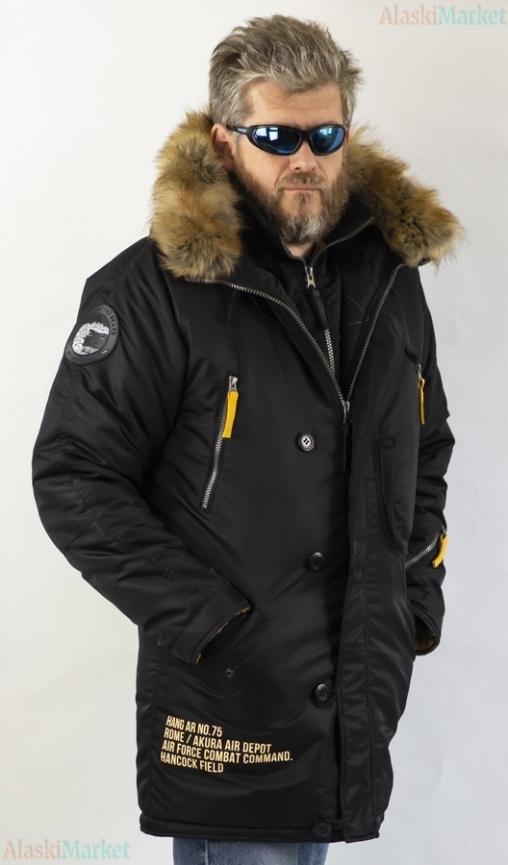 Аляска удлиненная EXPEDITION BLACK/SINAMON