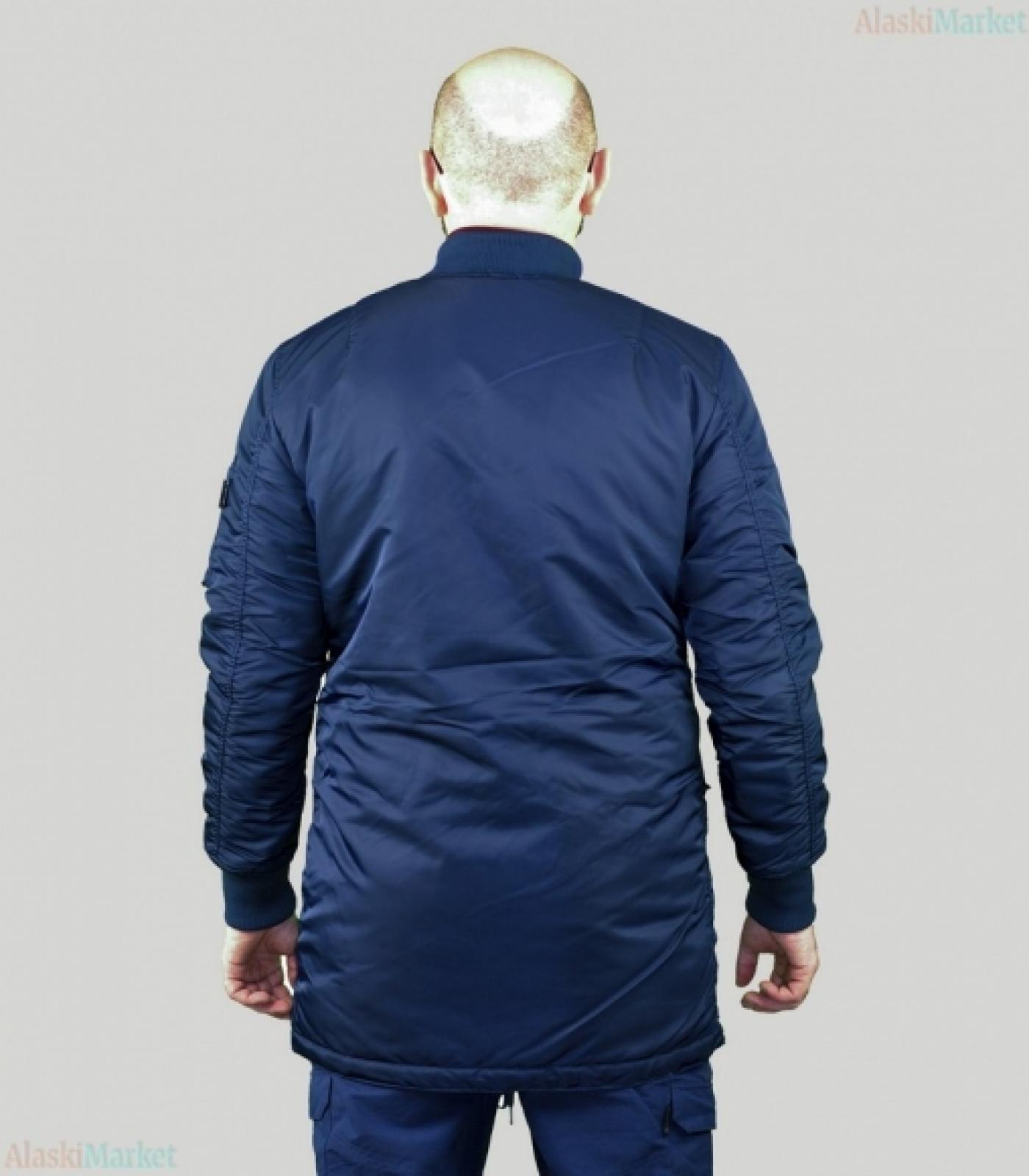 Куртка B-17 LONG REP BLUE/ORANGE