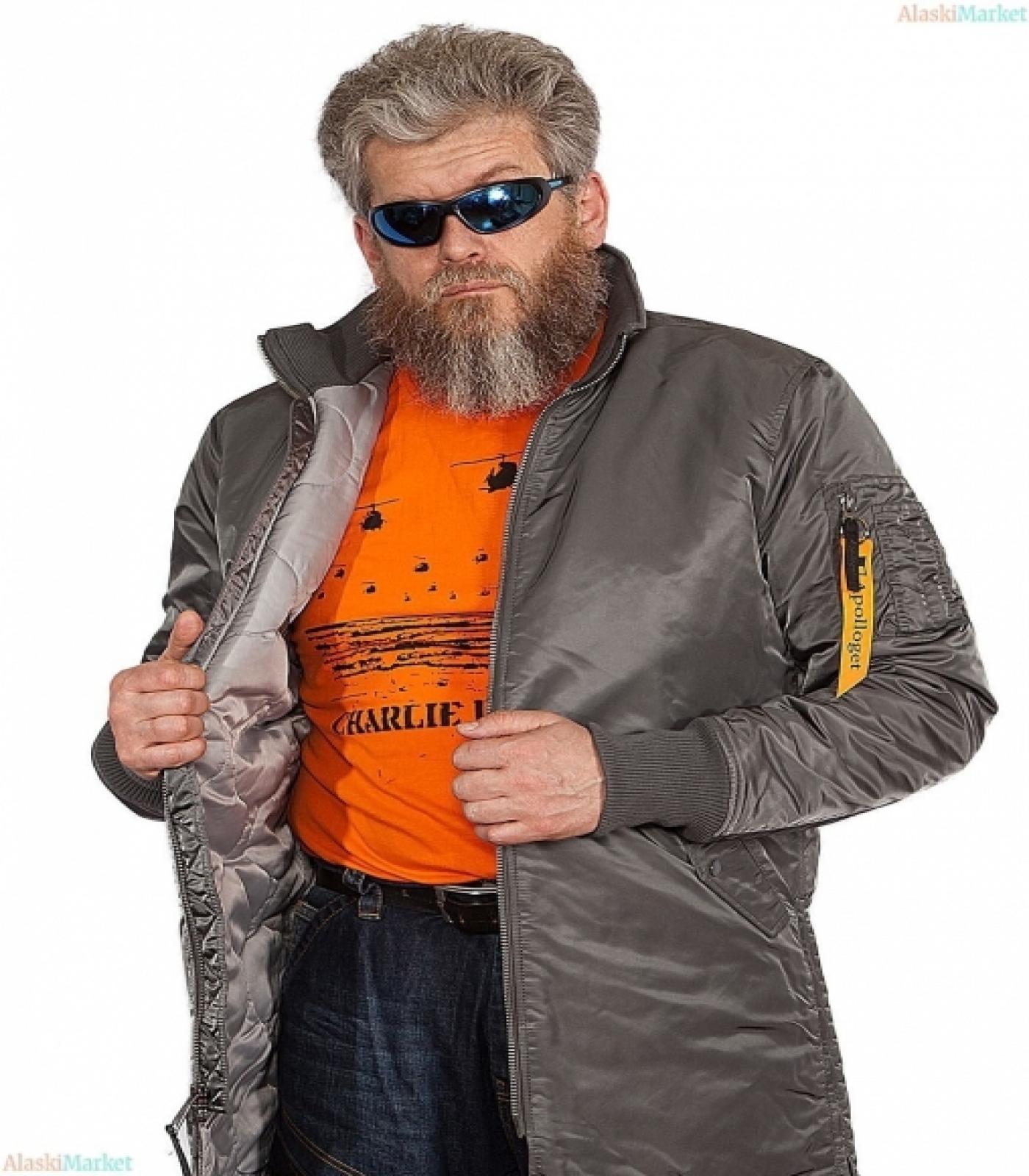 Куртка B-20 TURBO GUN GREY/GUN MET