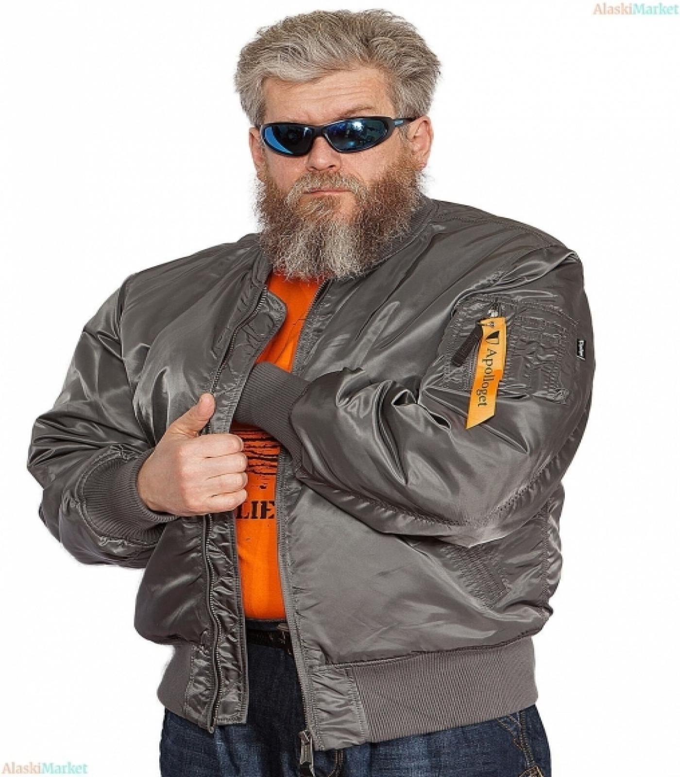 Куртка B-17 GUN GREY/GUN MET