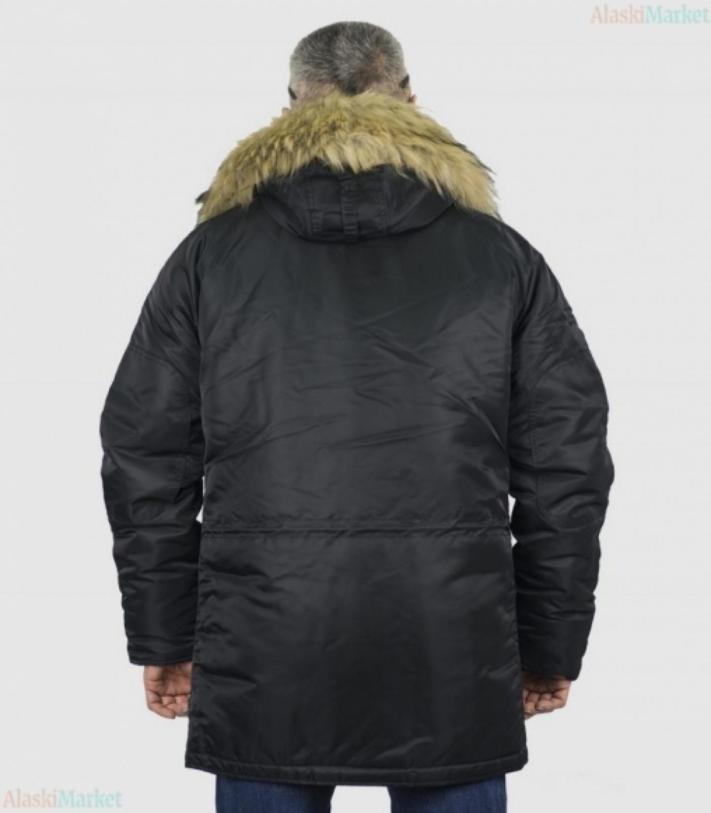 Аляска HUSKY BLACK/BLACK